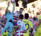 El Villarreal perdonó a un Granada que fue de menos a más