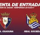 Las entradas para el Osasuna-Real Sociedad, a la venta este viernes