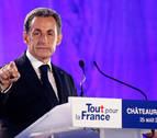 Sarkozy declara, bajo arresto, por la financiación de su campaña en 2007