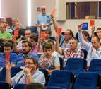 Asamblea de la FNF con oposición