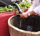La Fiesta de la Vendimia ensalzará en Olite desde mañana el vino navarro