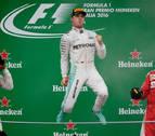 Rosberg gana en Monza para acercarse al liderato