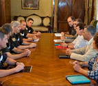 La UME y el Gobierno destacan la buena coordinación en el incendio de Tafalla
