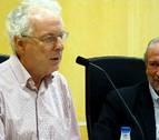 Espido Freire, Javier Sádaba y Javier Urra, en un curso de la UNED Pamplona