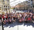 Los niños de Olite celebran el día grande de sus fiestas
