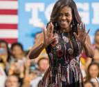 Michelle Obama hace campaña por Clinton para captar el voto joven