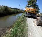 La CHE licita dos actuaciones de mantenimiento en el Canal de Lodosa