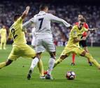 El Villarreal frena al Madrid de los récords
