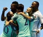Portugal sufre pero se clasifica y se verá con Argentina en semifinales