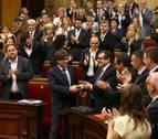 El Parlamento de Cataluña recurrirá al Constitucional la aplicación del 155