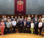Euskaltzaindia, homenajeada por sus cien años de defensa del euskera