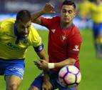 El Las Palmas-Osasuna se jugará el 5 de marzo a las 18.30 horas