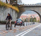 'Las bicis no vuelan... todavía', lema del Día de la Bicicleta en Pamplona