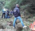 Hallan a un guipuzcoano muerto tras despeñarse mientras recogía setas en Goizueta