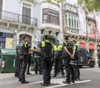 Cinco condenados por la ocupación de un edificio en el Paseo de Sarasate