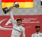 Rosberg gana en Suzuka su novena carrera del año y distancia más a Hamilton