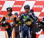 Rossi corre más que los españoles en Motegi