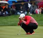 Carlota Ciganda, a tres golpes del liderato en el Blue Bay LPGA