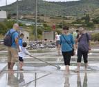 Un paso más para el balneario en torno a la sal de Salinas