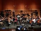 La OSN graba esta semana la banda sonora de 'Ofrenda a la tormenta' en Baluarte