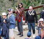 La actriz Demi Moore recorre Machu Pichu rodeada de fuertes medidas de seguridad