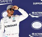 Hamilton avisa a Rosberg con una nueva 'pole'