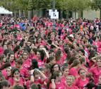 Cobertura especial de la carrera contra el cáncer de mama en Diario de Navarra