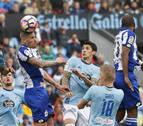 El Celta de Vigo golea al Depor en un vibrante derbi