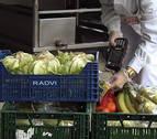 Eroski dona 8,3 toneladas de alimentos en Navarra en el último mes