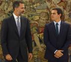 Rivera habla con Rajoy y le confirma el