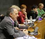 Foto de Adolfo Araiz, en el debate del estado de la Comunidad.