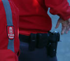 Detenido en Burlada un menor que amenazó con un cuchillo a policías de Barañáin
