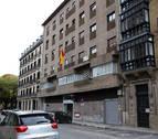 Tres policías y una menor, heridos en unos incidentes en el centro de Pamplona