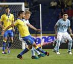 El Celta desperdicia tres goles y Las Palmas la posibilidad del milagro