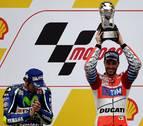 Dovizioso manda en Malasia y Rossi conquista el subcampeonato