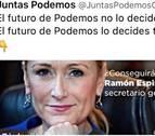 Cristina Cifuentes reprocha a Ramón Espinar que utilice su imagen en la campaña