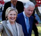 Hillary Clinton vota en Nueva York y confía en su victoria