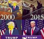 'Los Simpson' ya predijeron hace 16 años que Trump sería presidente