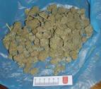Dos detenidos por un presunto delito de tráfico de drogas en Barañáin