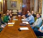 Primera reunión del grupo de trabajo formado por representantes del Gobierno y de la comunidad islámica de Navarra.