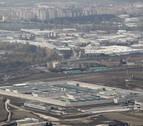 Vista aérea de la cárcel de Pamplona