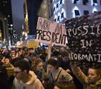 Estallan protestas contra Trump en las principales ciudades de EE UU