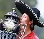 Segundo título del año para Carlota Ciganda en México