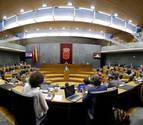 El Parlamento foral ve