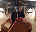 El navarro Aser Longás lleva sus trabajos 'de la escultura a la arquitectura' a la Ciudadela
