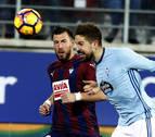 El Eibar logra su primera victoria ante el Celta en Ipurúa en Primera