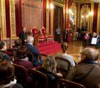 Comienzan las visitas al Palacio de Navarra con motivo del Día de Navarra