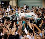 Rosberg, campeón del mundo de Fórmula 1