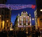 Este viernes, a las 18 horas, se enciende la iluminación navideña del centro de Pamplona