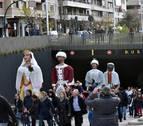 San Saturnino y los niños merecieron un baile
